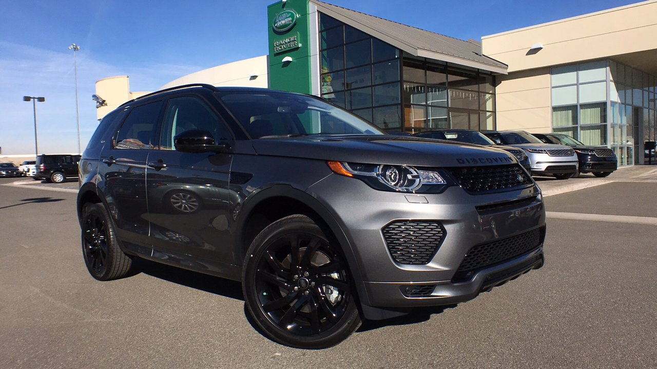 New 2018 Land Rover Discovery Sport HSE Luxury Sport Utility in Reno