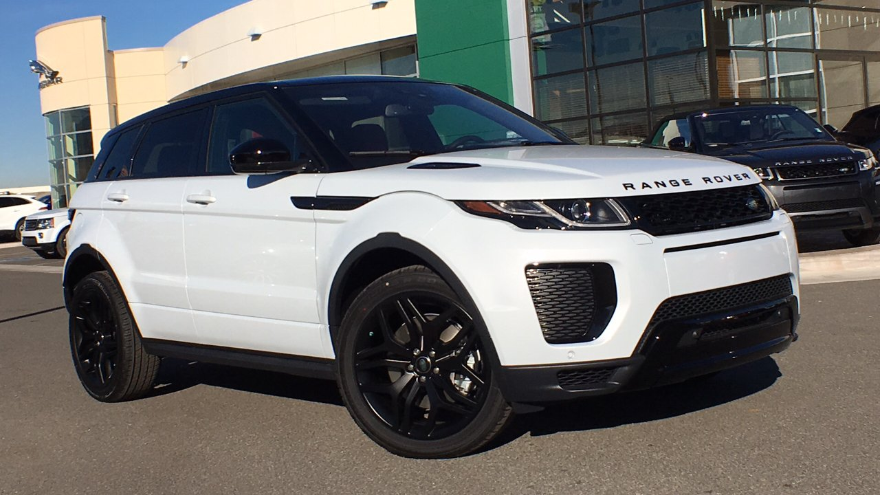 New 2018 Land Rover Range Rover Evoque Hse Dynamic Sport