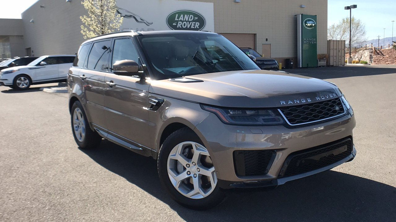 New 2018 Land Rover Range Sport Hse Utility In Reno Coolant Type